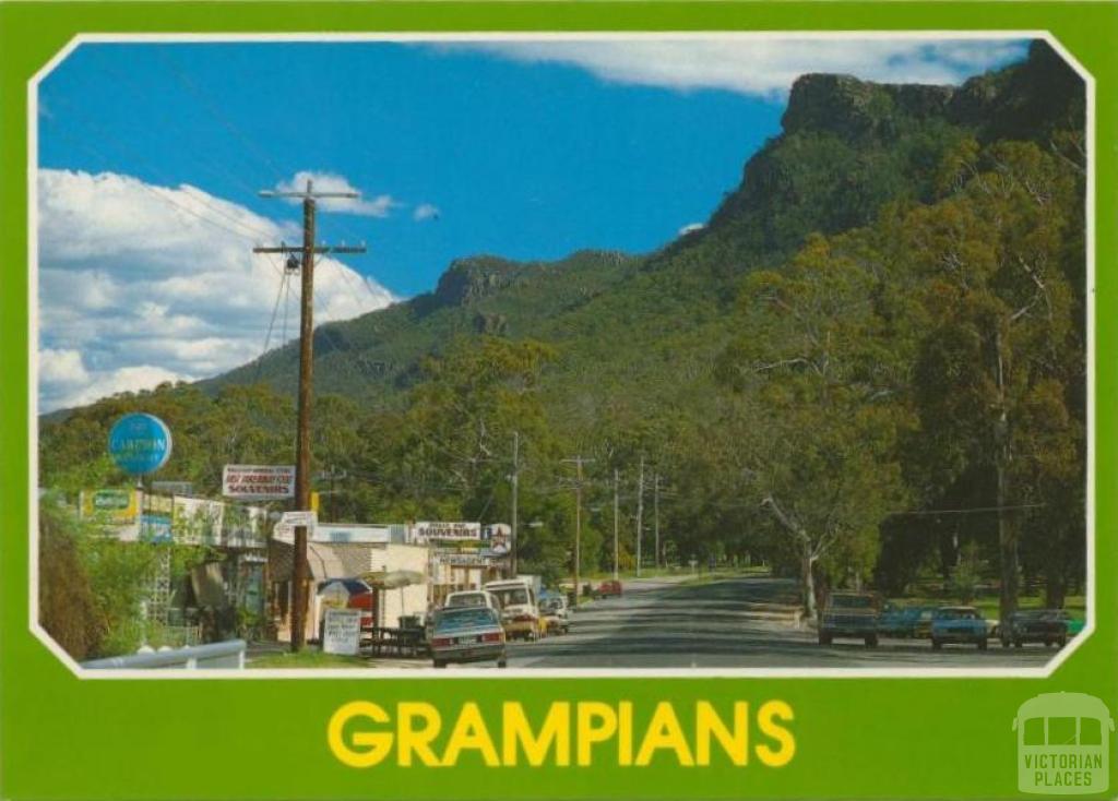 Halls Gap township, 1986