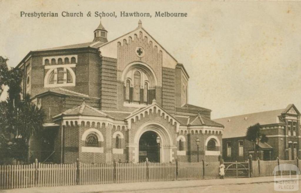 Presbyterian Church and School, Hawthorn