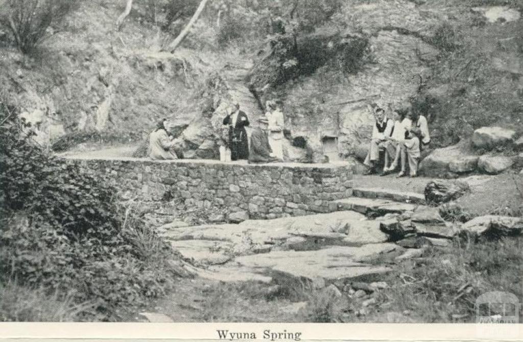 Wyuna Spring, Hepburn Springs