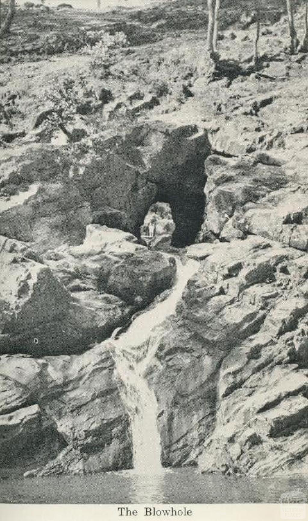The Blowhole, Hepburn Springs