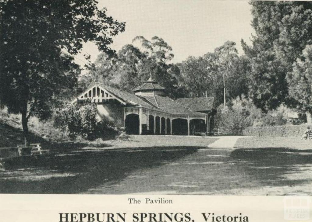 The Pavilion, Hepburn Springs