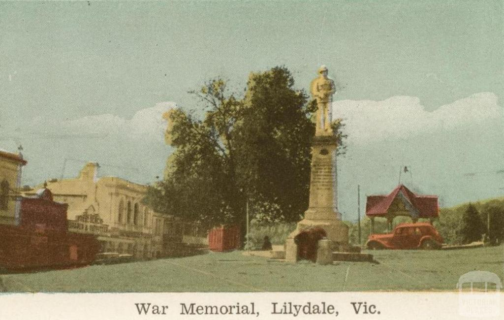 War Memorial, Lilydale, 1964
