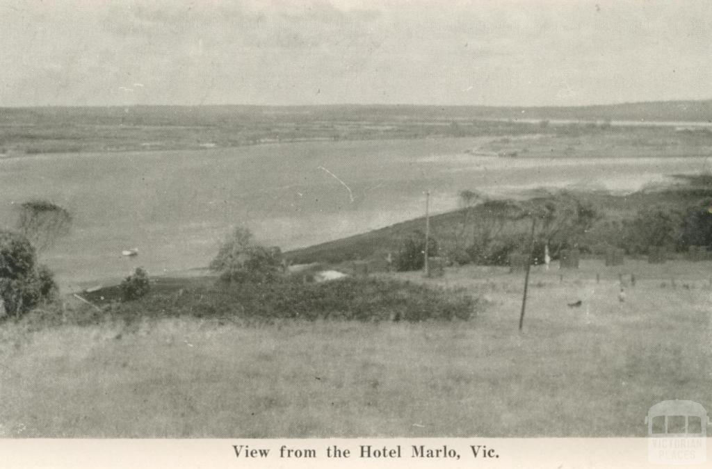 View from Hotel Marlo, 1963