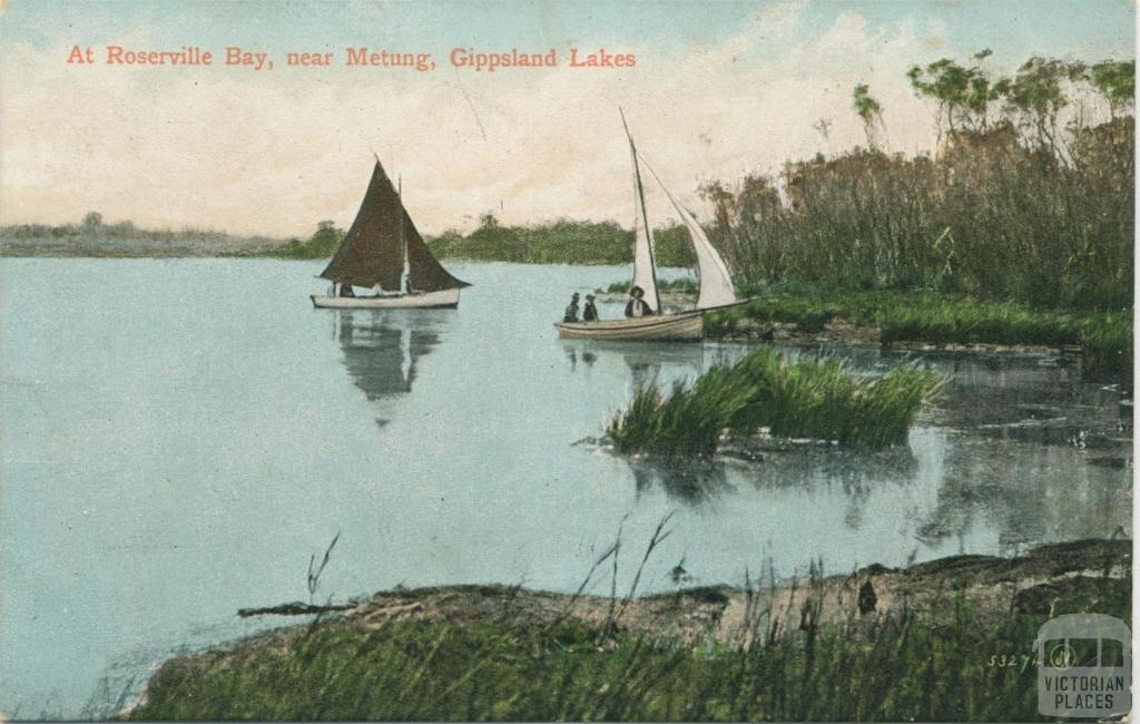 At Roseville Bay, near Metung, Gippsland Lakes