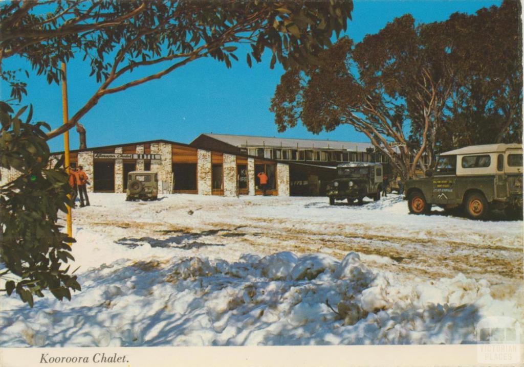 Kooroora Chalet, Mount Buller, 1976