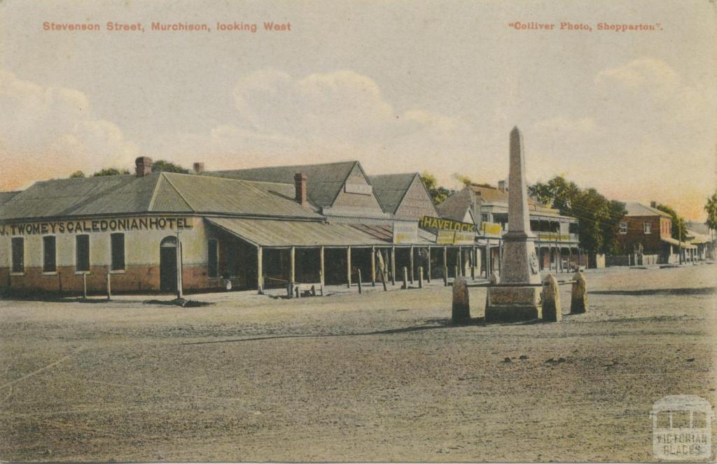 Stevenson Street, Murchison, looking West