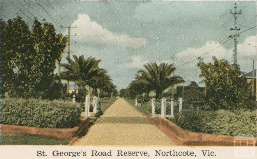 St George's Road Reserve, Northcote