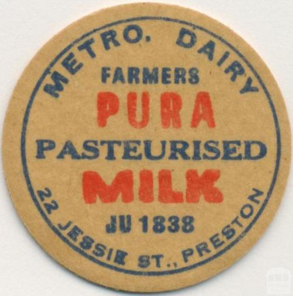 Metro Dairy, 22 Jessie Street, Preston