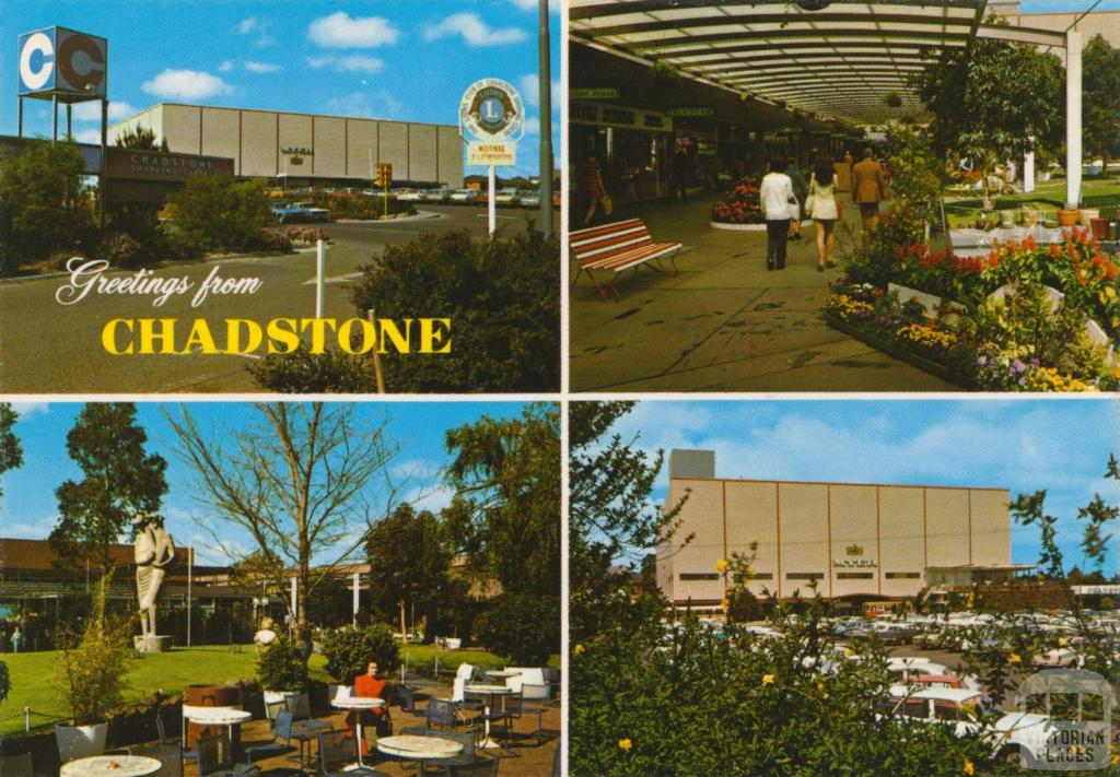 First Regional Shopping Centre, Chadstone