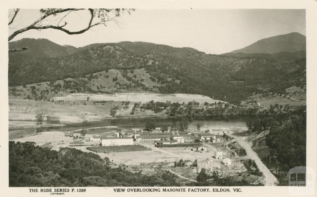 View Overlooking Masonite Factory, Eildon