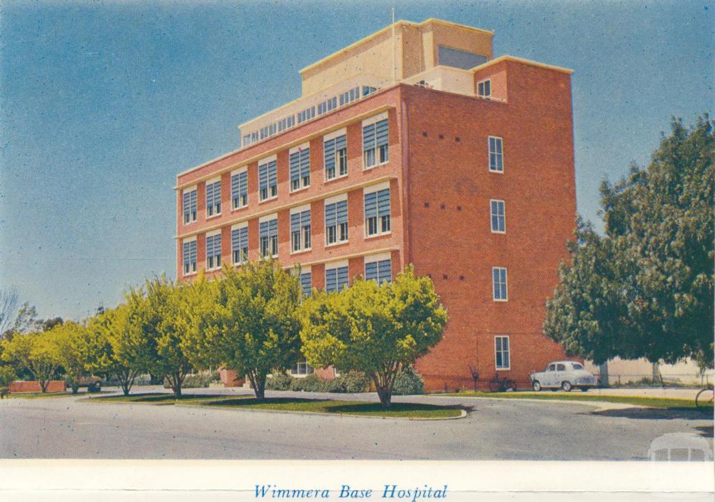 Wimmera Base Hospital, 1965