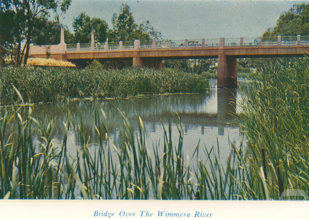 Bridge Over The Wimmera River, 1965
