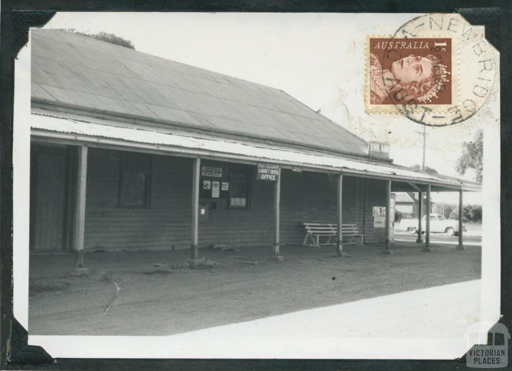 Newbridge Post Office, 1969