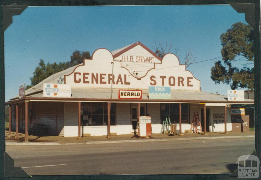 Newbridge General Store, 1981