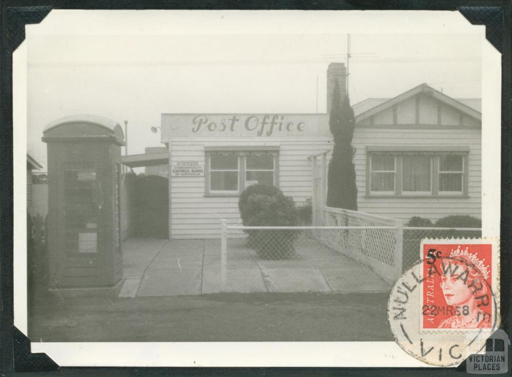 Nullawarre Post Office, 1969