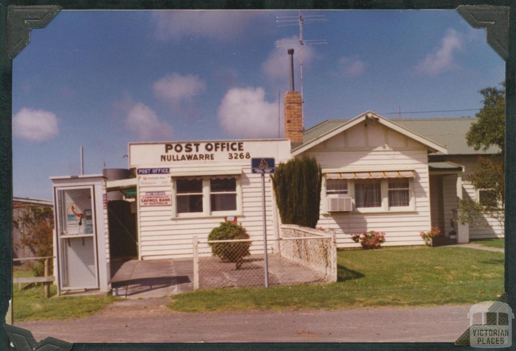 Nullawarre Post Office, 1981
