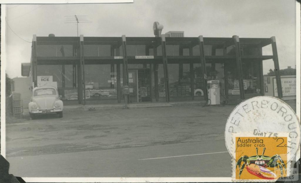 Peterborough General Store and Post Office, 1975