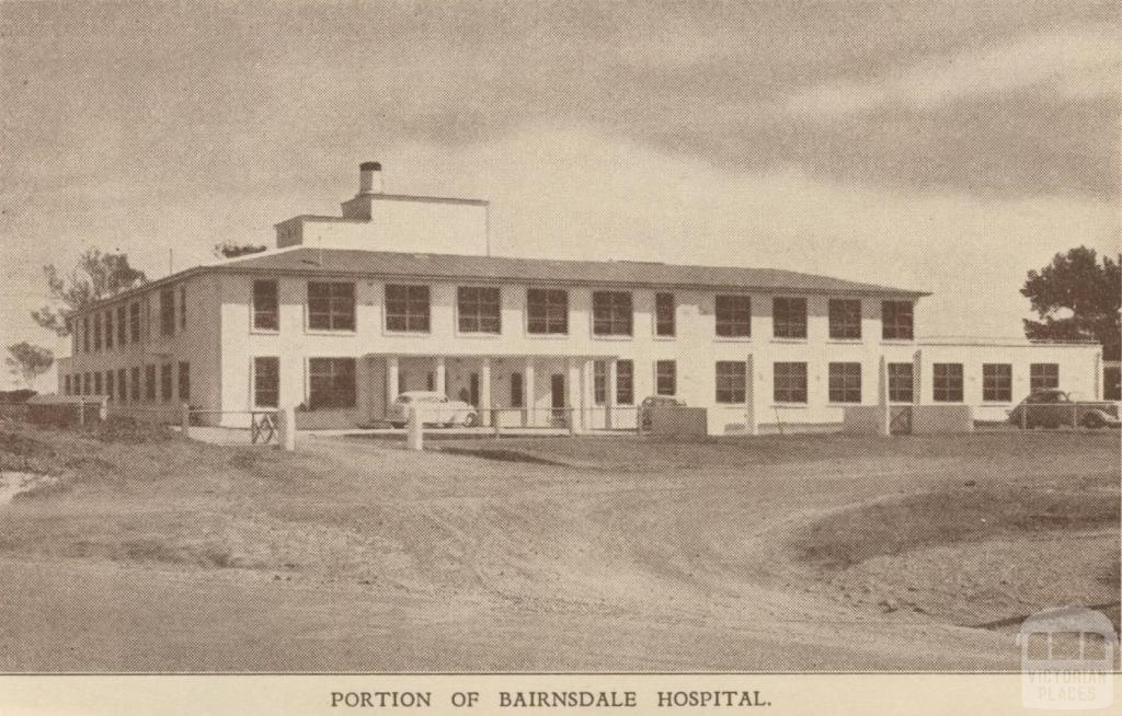 Portion of the Bairnsdale Hospital