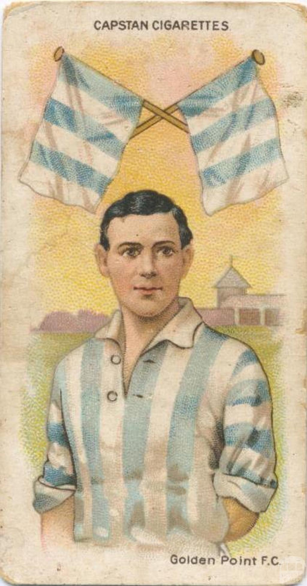 Golden Point Football Club, Capstan Cigarettes Card