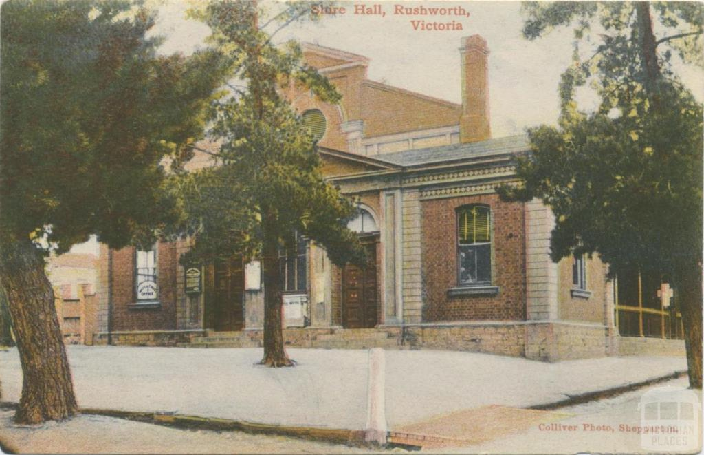 Shire Hall, Rushworth