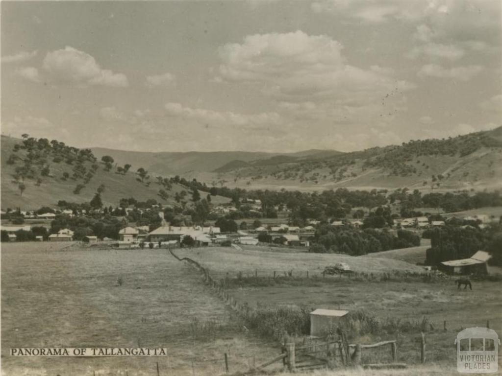 Panorama of Tallangatta