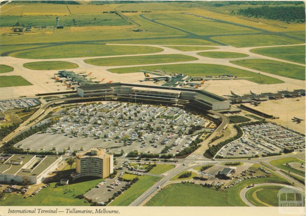 International Terminal, Tullamarine Airport