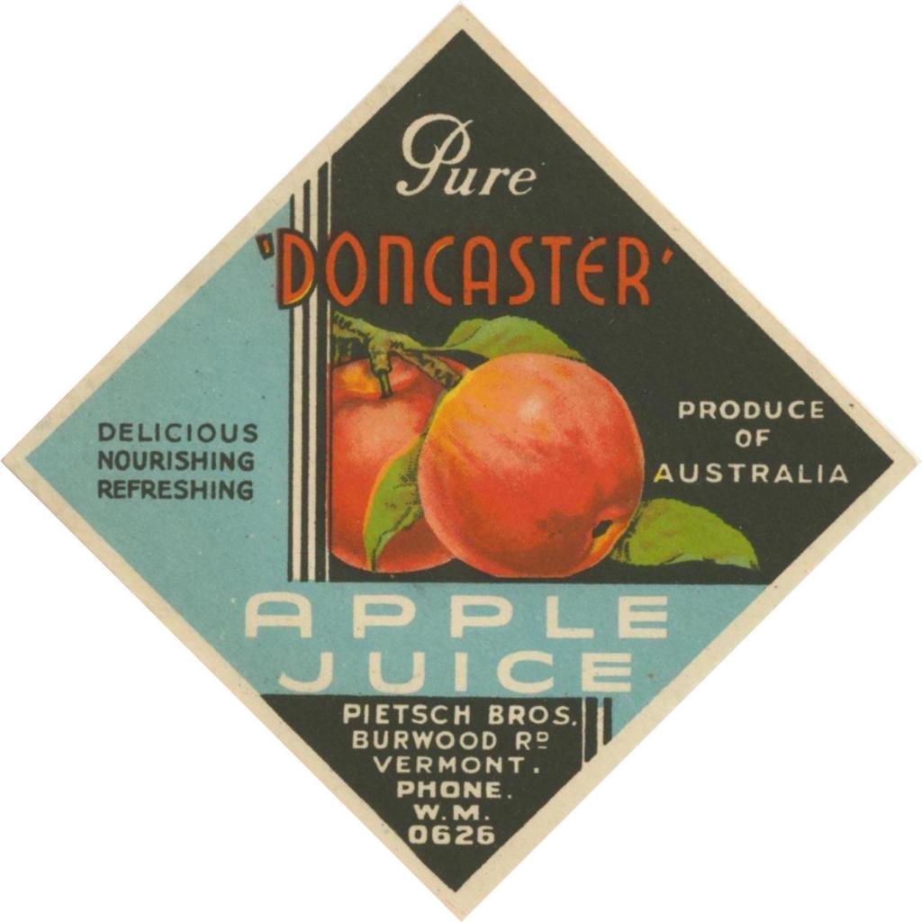 Pure Doncaster Apple Juice