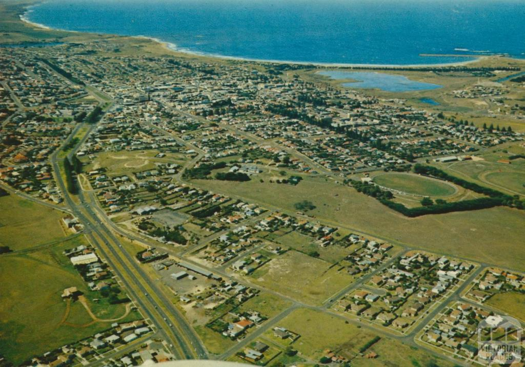 Aerial view of Warrnambool