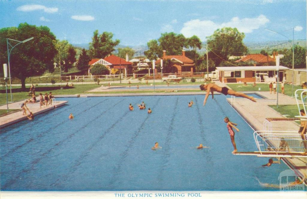 The Olympic Swimming Pool, Wodonga, 1965