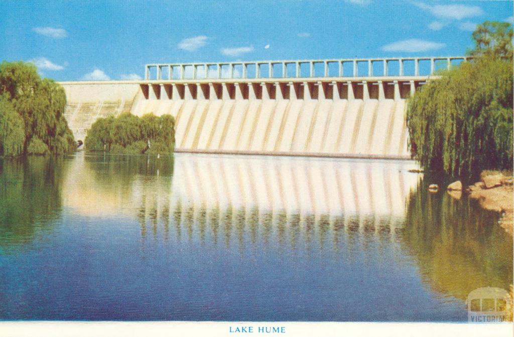 Lake Hume, Wodonga, 1965