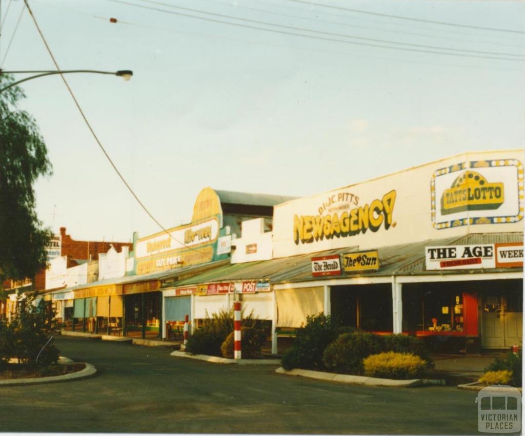 Broadway shops, Wycheproof