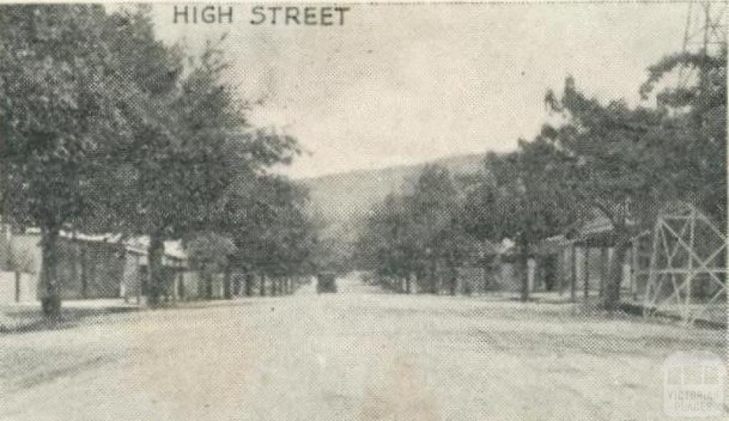 High Street, Yackandandah