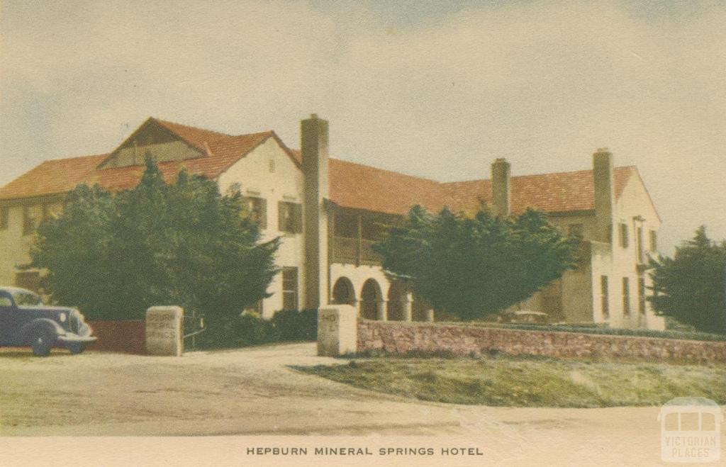 Hepburn Mineral Springs Hotel, 1948