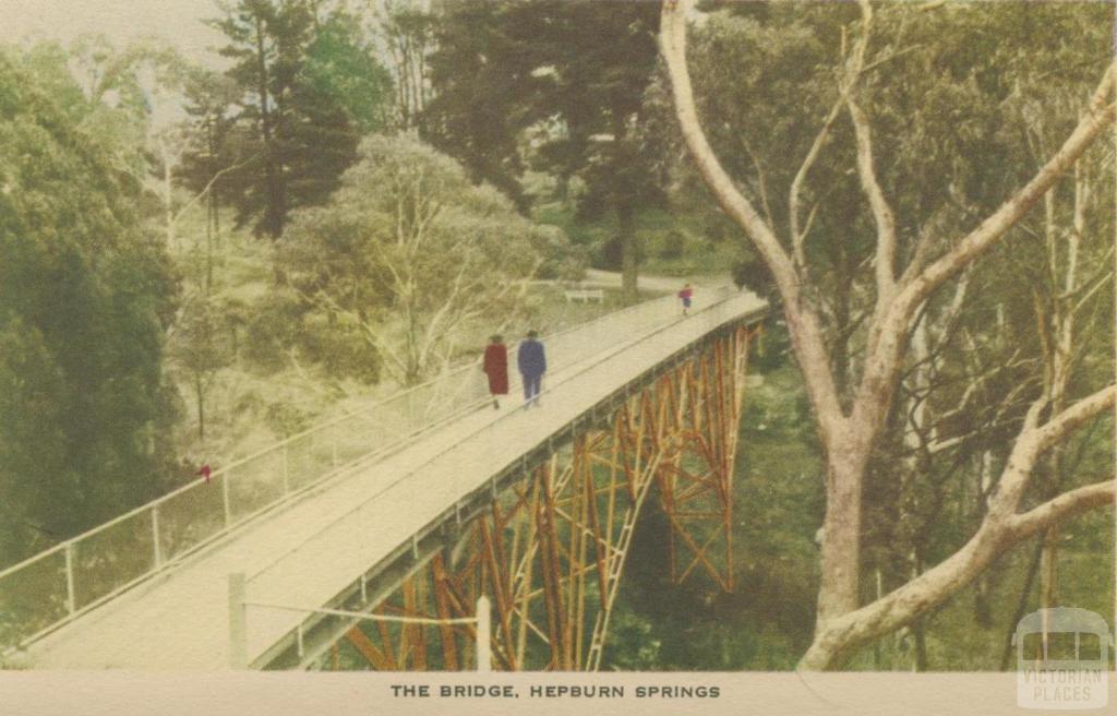 The Bridge, Hepburn Springs, 1948
