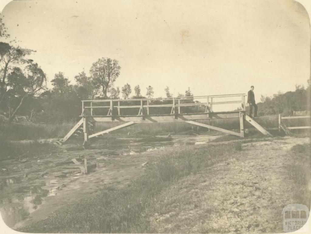 Kananook Creek, Frankston, 1908