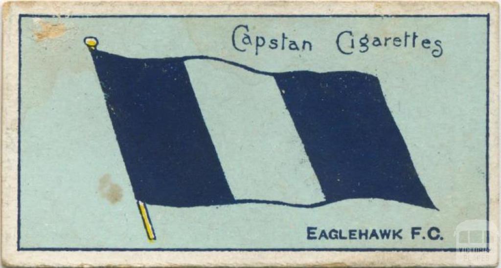 Eaglehawk Football Club, Capstan Cigarettes Card